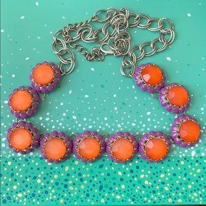 Jewelry - 🔥Purple & Orange statement necklace